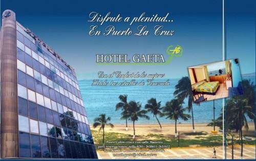 Hotel Gaeta Hoteles Y Posadas En Puerto La Cruz Anzo 225 Tegui